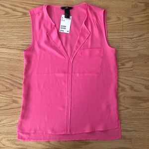 H&M Sleeveless Pink Top